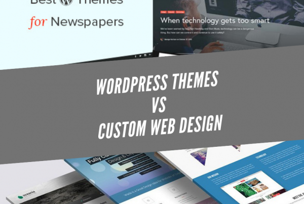 wordpress vs web design